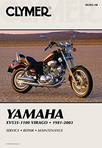 9780892876112: Yamaha XV535-1100 Virago, 1981-1993: Clymer Workshop Manual
