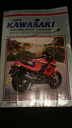 9780892876150: Kawasaki GPZ900R, ZX10, GPZ1000RX, ZZR11000, 1984-1993: Clymer Workshop Manual (Clymer Motorcycle Repair Manuals)
