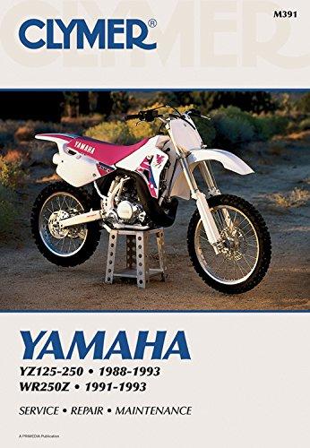 9780892876181: Clymer Yamaha Yz125-250; Wr250z 88-93: Service, Repair, Maintenance: Clymer Workshop Manual (Clymer Motorcycle Repair)