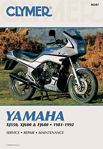 9780892876211: Clymer Yamaha Xj550 & Fj600 81-92: Service, Repair, Maintenance: Clymer Workshop Manual