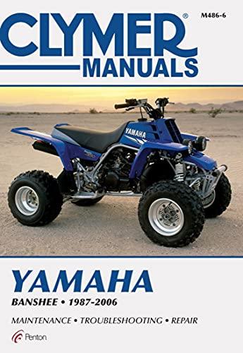 9780892876303: Yamaha YFZ350 Banshee, 1987-1995: Clymer Workshop Manual (M486)
