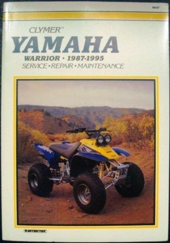 9780892876365: Clymer Yamaha YFM350X Warrior, 1987-1995