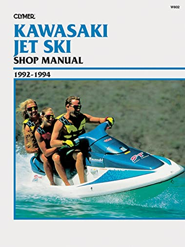 Clymer Kawasaki Jet Ski Shop Manual, 1992-1994: Staff Penton Staff