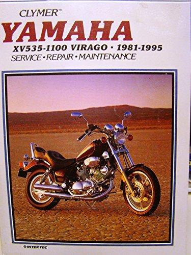 9780892876525: Clymer Yamaha Xv535-1100 Virago 1981-1995: Xv535 Virago, 1987-1995