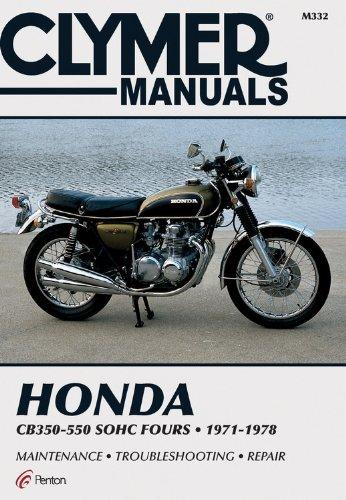 9780892876532: Honda 350-550cc Fours 72-78 (Clymer Manuals: Motorcycle Repair)
