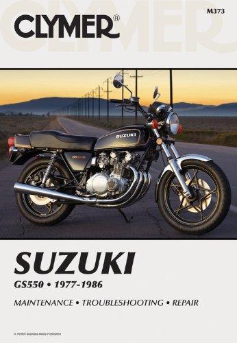 9780892876648: Suzuki Gs550 1977 1986 Service Repair Maintenance