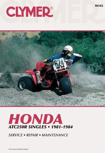 9780892876655: Honda Atc250R, Singles 1981-1984: Service, Repair, Performance/M342