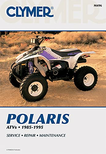 9780892876686: Polaris 1985-1995 ATV (Clymer All-Terrain Vehicles)