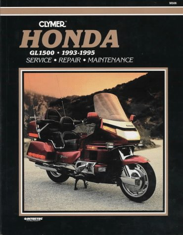 9780892876693: Honda GL1500 Goldwing 1993-1995: Clymer Workshop Manual