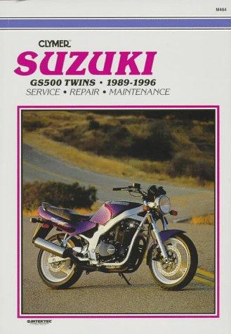 9780892876716: Clymer Suzuki- Gs500 Twins, 1989-1996: Gs500 Twins : 1989-1996