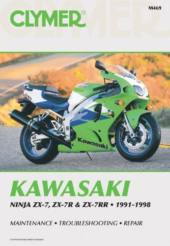 9780892876747: Kawasaki Zx& Ninja 91-98: Clymer Workshop Manual