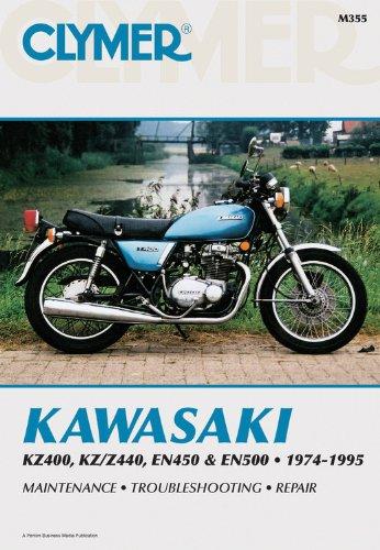 9780892876792: Kawasaki Kz400/Z440 En450/500 74-95: Clymer Workshop Manual