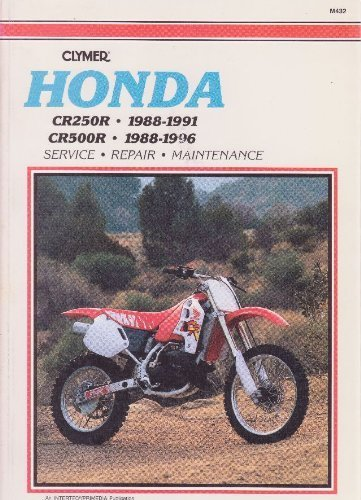 9780892876822: Clymer Honda Cr250r & Cr500r, 1988-1996