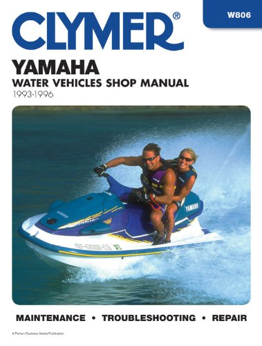 9780892876860: Yamaha: Water Vehicles Shop Manual 1993-1996