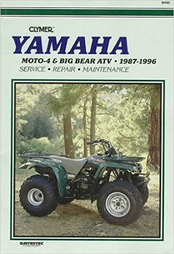 Yamaha: Moto-4 & Big Bear Atv 1987-1996: Clymer Pubns