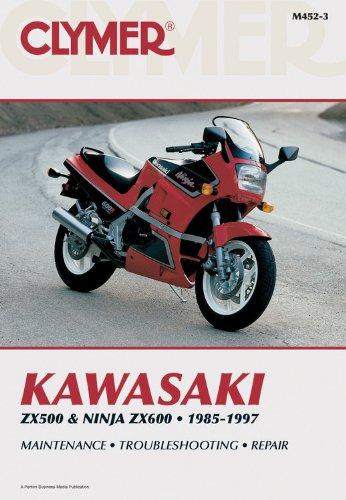 9780892876969: Kawasaki GPZ and GPX600, 1985-1997: Clymer Workshop Manual
