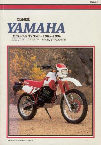 9780892876990: Yamaha XT/TT 350, 1985-1996: Service, Repair, Maintenance