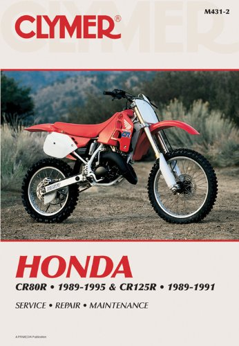 9780892877065: Clymer Honda Cr80R 1989-1995 & Cr125R 1989-1991
