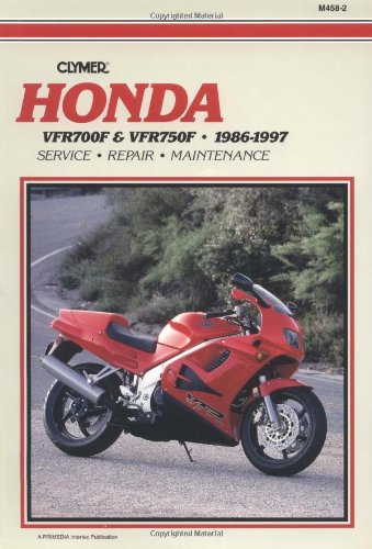 9780892877119: Honda VFR700F-750F, 1986-1997 Clymer Workshop Manual