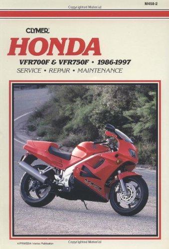 9780892877119: Honda VFR 700F and VFR 750F, 1986-1997