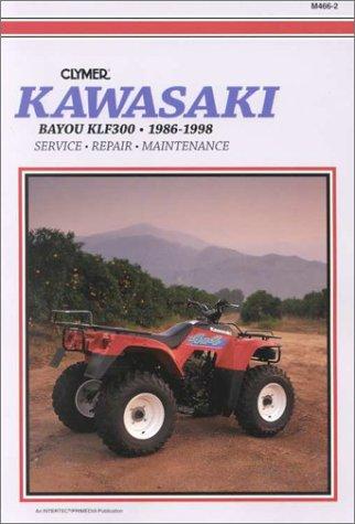 9780892877164: Kawasaki Bayou Klf300, 1986-1998: Service, Repair, Maintenance