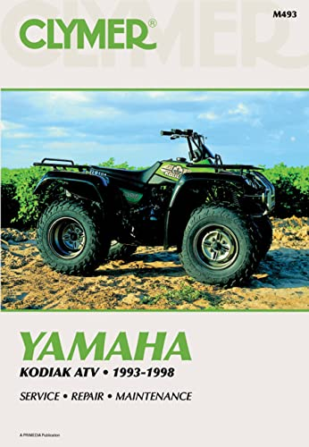 9780892877171: Clymer Yamaha Kodiak ATV, 1993-1998, M493