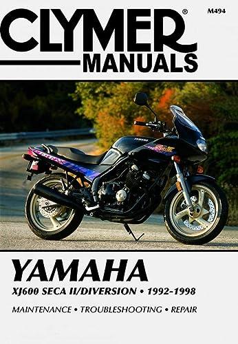 Yamaha XJ600 SECA II 92-98 (Clymer Motorcycle Repair): Penton Staff