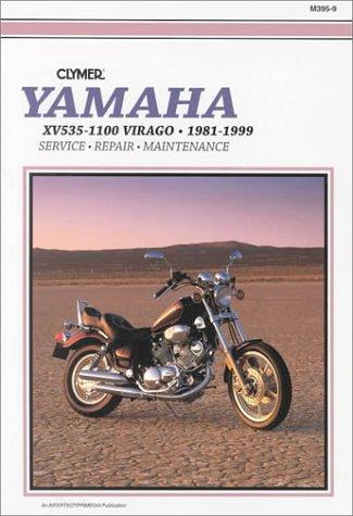 9780892877331: Clymer Yamaha Xv700-1100 Virago, 1981-1999, Xv535 Virago, 1987-1999