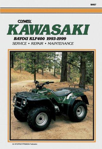 9780892877393: Kawasaki KLF400 Bayou 1993-1999 (Clymer All-Terrain Vehicles)