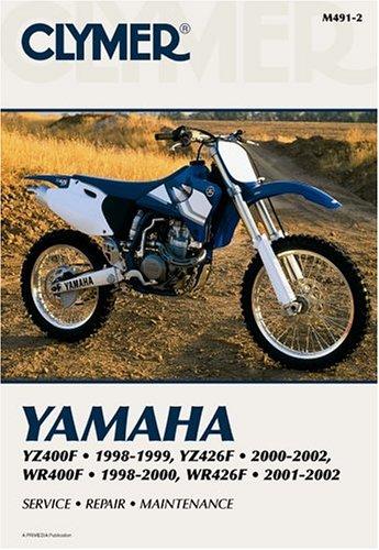 9780892877485: Clymer Yamaha: Yz400F 1998-1999, Wr400F 1998-2000& Yz426F 2000