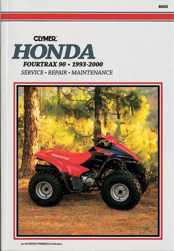 Honda 4-Trax 90 ATV 1993-2000 (Clymer All-Terrain Vehicles): Penton Staff