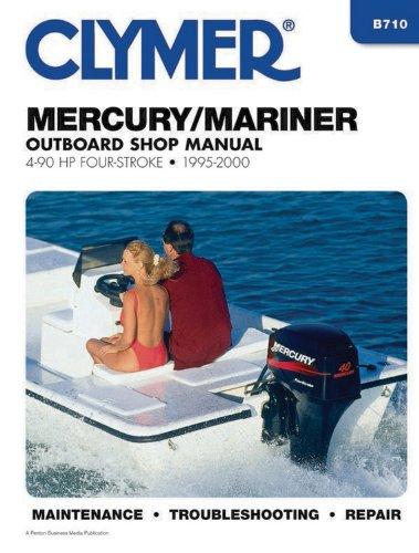 Clymer Mercury/Mariner: Outboard Shop Manual : 4-90: Penton Staff