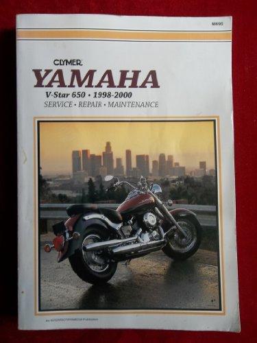Yamaha Xvs650 V-Star, 1998-2000: Service, Repair, Maintenance: Clymer Publishing