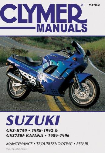 9780892877638: Suzuki Gsxr750/Gsx750f Katn 88-96 (Clymer Motorcycle Repair)