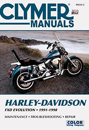 Clymer Harley-Davidson Sportster Evolution, 1991-2000: Service, Repair, Maintenance: Clymer (...