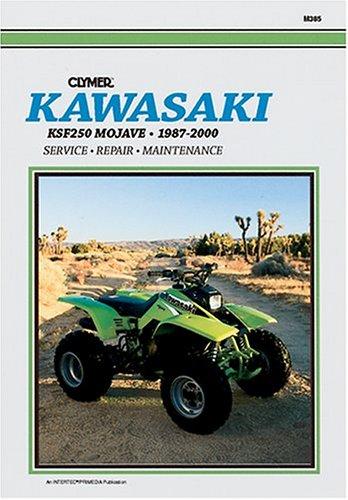 9780892877652: Clymer Kawasaki Ksf250 Mojave, 1987-2000 (Clymer All-Terrain Vehicles)