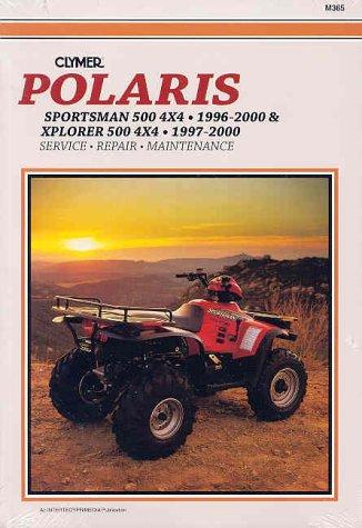 9780892877706: Clymer Polaris: Sportsman 500 4X4, 1996-2000 & Xporer 500 4X4, 1997-2000