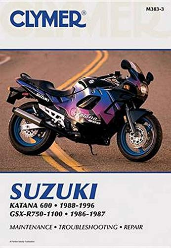 9780892877720: Suzuki GSX-R750-1100 86-96 (CLYMER MOTORCYCLE REPAIR)