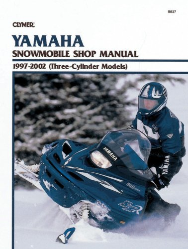Yamaha Snowmobile Shop Manual 1997-2002 (Three-Cylinder Models) (Clymer Snowmobiles): Penton Staff