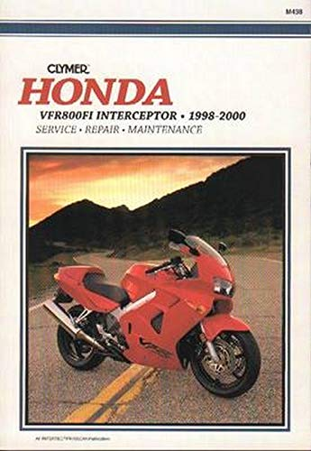 9780892877812: Honda Vfr800Fi Interceptor, 1998-2000
