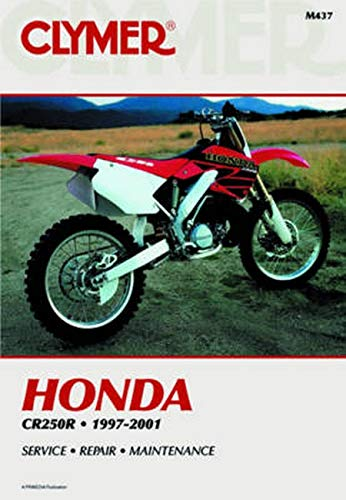 9780892877898: Honda: Cr250r 1997-2001 (Clymer Motorcycle Repair)