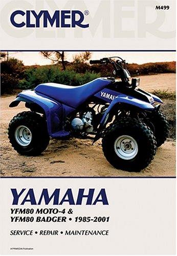 9780892877935: Clymer Yamaha: Yfm80 Moto-4 & Yfm80 Badger : 1985-2001