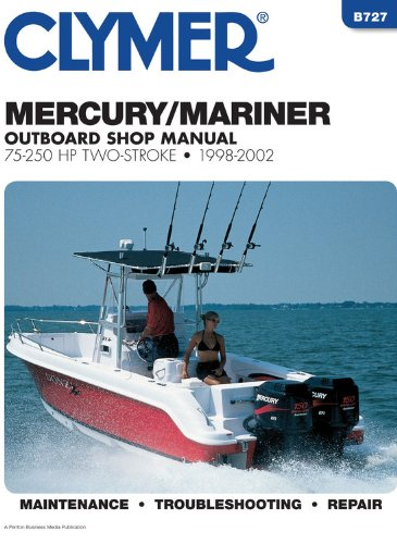 Mercury Marine 2 strk otbrd 75250h (Clymer Marine Repair Series): Penton Staff