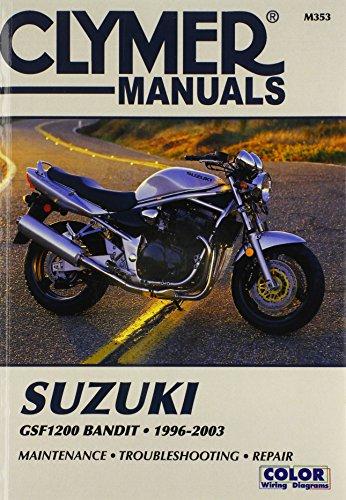9780892878000: Suzuki Gsf 1200 Bandit 1996-2003