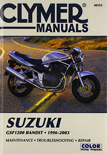 9780892878000: Suzuki Gsf 1200 Bandit 1996-2003 (Clymer Motorcycle Repair)