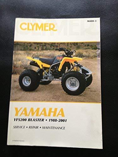 9780892878017: Clymer Yamaha Yfs200 Blaster 1988-2001