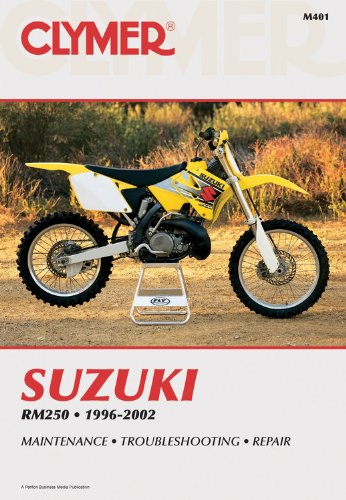 9780892878062: Suzuki Rm250 1996-2002 (Clymer Motorcycle Repair)