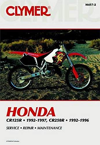 9780892878130: Honda Cr125r and Cr250r 1992-1997 (Clymer Motorcycle Repair)