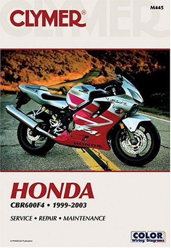 9780892878147: Honda Cbr600F4, 1999-2003 (Clymer Motorcycle Repair)