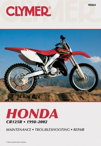 9780892878154: Honda Cr125 1998-2002 (Clymer Motorcycle Repair)